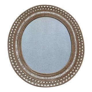 Bamboo Boho Wall Mirror