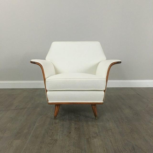 Vintage Art Deco Club Chair - Image 4 of 9