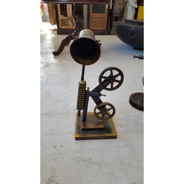Rustic Industrial Inspired Lamp - Image 3 of 3