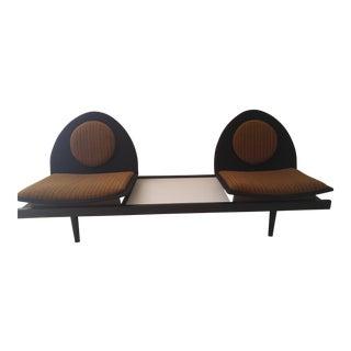 Mid-Century Modern 2 Seat Sofa
