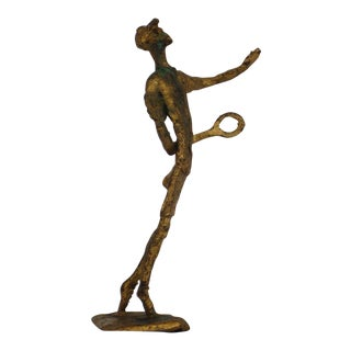 Mid 20th Century Bronze Sculpture