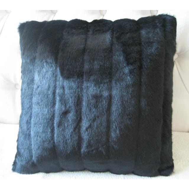 Faux Mink Decorative Pillow - Image 2 of 3