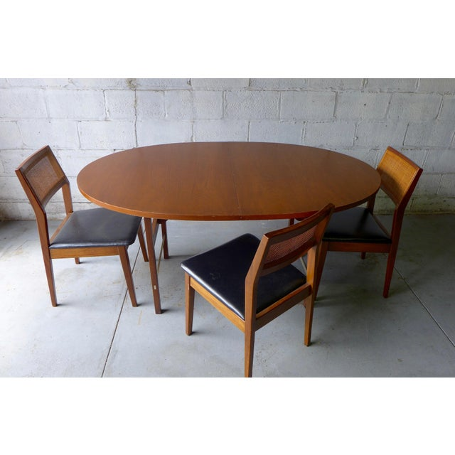 Mid Century Modern Walnut Dining Table Chairish