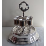 Image of Taunton Silver Cordials & Caddy Holder