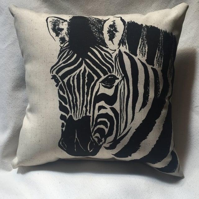 Zebra Print Pillow - Image 2 of 7