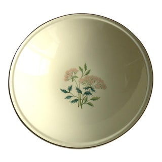 1950s Floral Design Serving Bowl