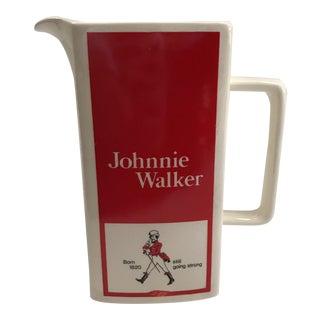 Johnny Walker Scotch Pitcher