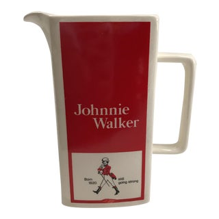 Johnny Walker Scotch Pitcher