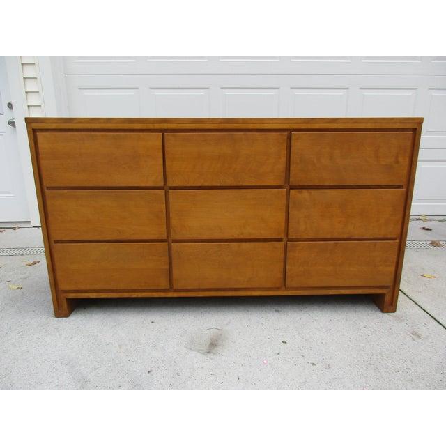 Leslie Diamond For Conant Ball Nine Drawer Dresser - Image 2 of 10