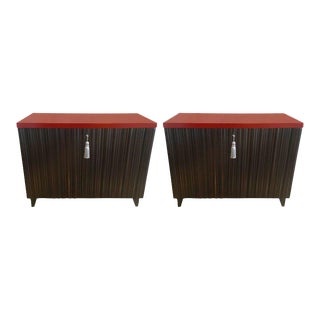 Laura Kirar for Baker Commodes - A Pair