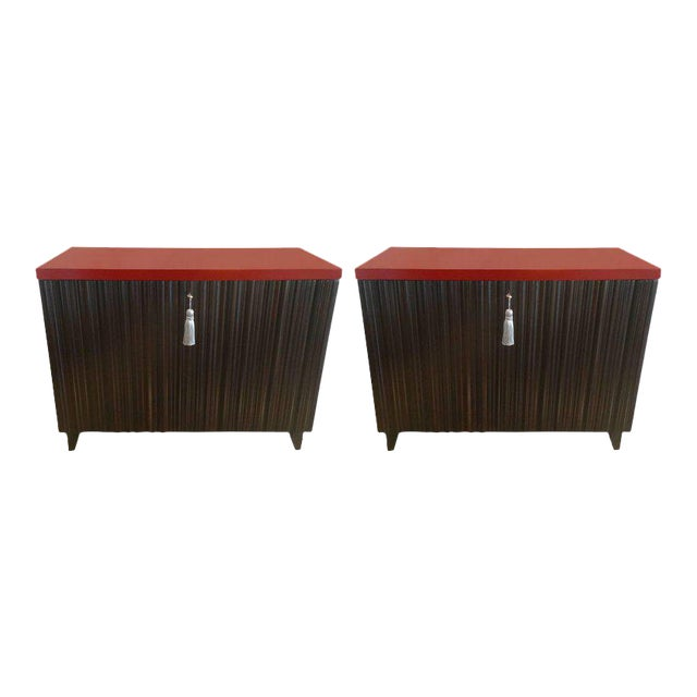 Laura Kirar for Baker Commodes - A Pair - Image 1 of 11