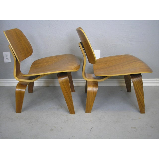 Charles and Ray Eames LCW Chairs - A Pair - Image 3 of 7