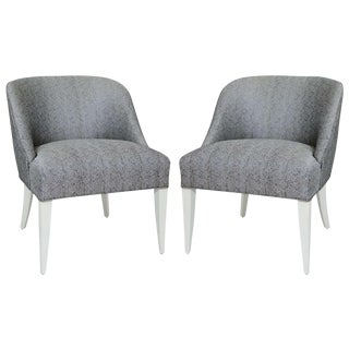 Pair of Chairs by Jean Pascaud, French, 1940s