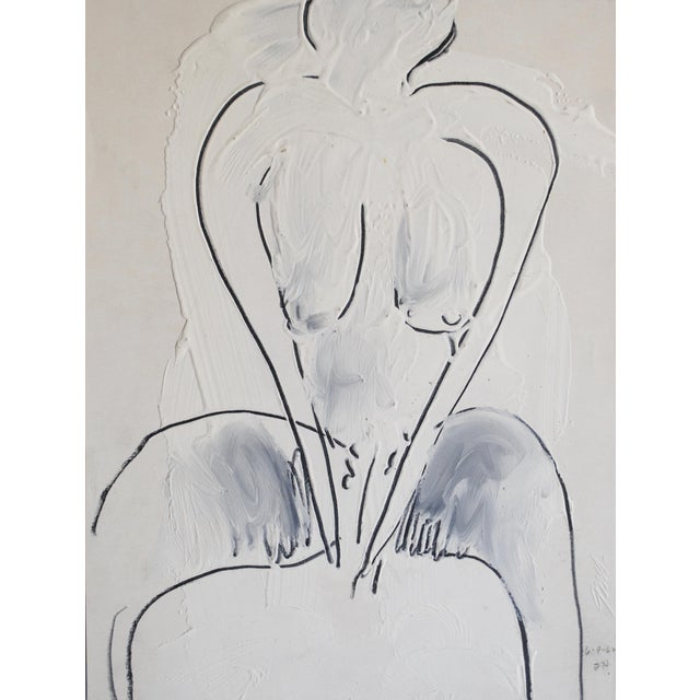 1962 Figurative Painting by Jack Hooper - Image 1 of 4