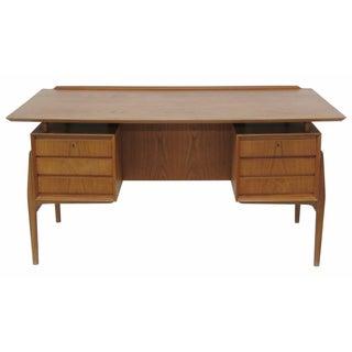 Danish Modern Arne Vodder Bookcase Desk