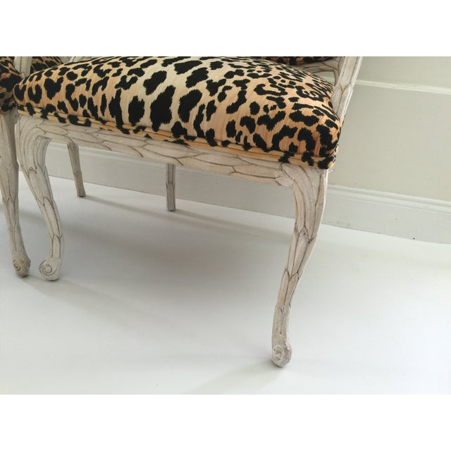 Italian Leopard Chairs - Pair - Image 6 of 6