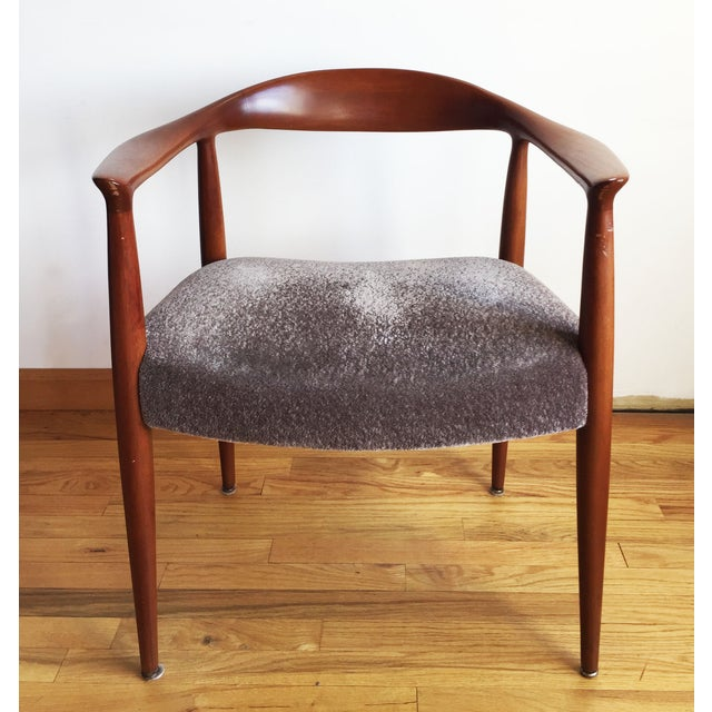 1970s Hans Wegner Kennedy Round Chairs - A Pair - Image 4 of 10
