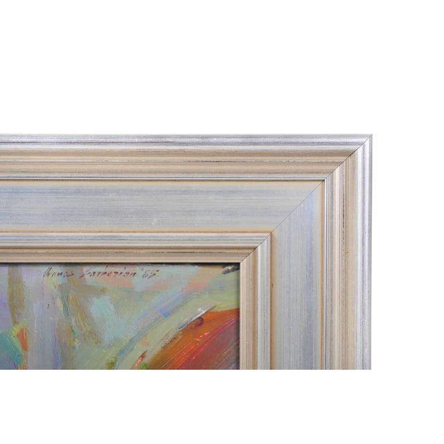 Ovanes Berberian Under the York Bridge Painting - Image 8 of 10