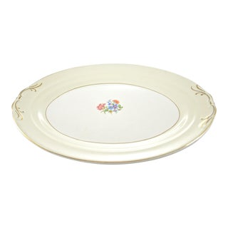 """Floral Bouquet 15"""" Oval Tray"""