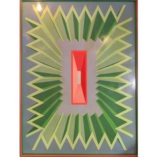 1960's Optical Pop Art Painting