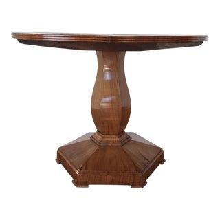 Antique Biedermeier Game Table