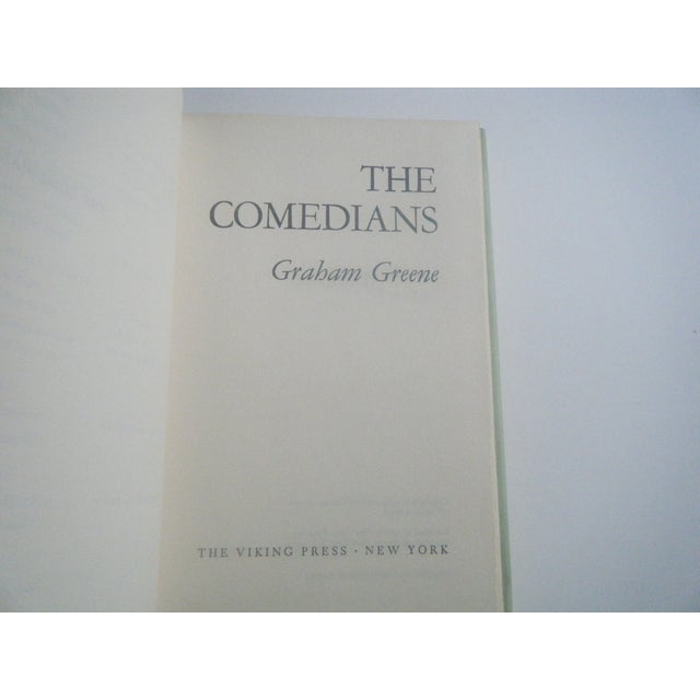 Image of Vintage 1960s Haiti Book - The Comedians
