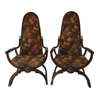 Late 20th Century Chairs - A Pair
