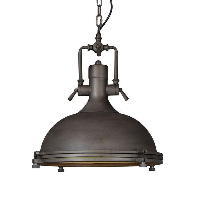 Vintage Style Industrial Dome Pendant - Image 1 of 2