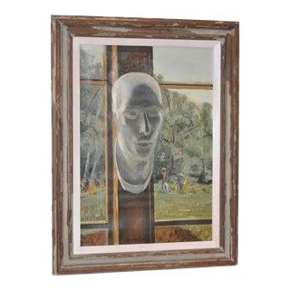 "Stephen Etnier ""Studio Window"" Original Oil Painting"