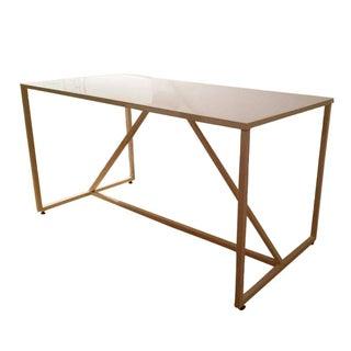 Blu Dot Ivory Strut Table