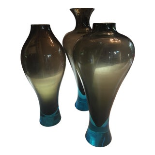 Donghia Murano Glass Vessels - Set of 3