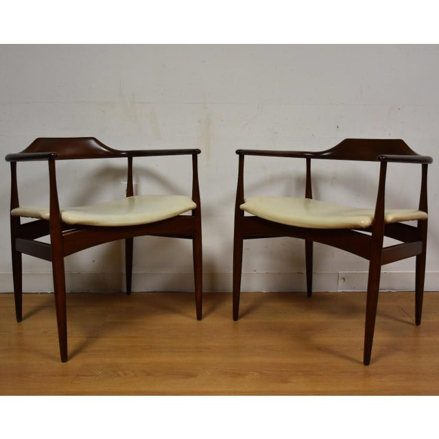 Ib Kofod Larsen for Selig Chairs - A Pair - Image 2 of 11