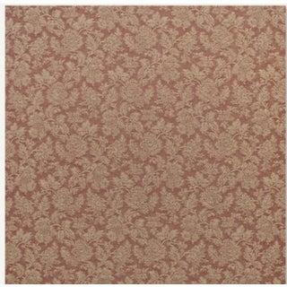 Heritage Damask Brick Fabric -3 Yards