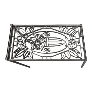 Late 19th Century French Cast Iron Grate Table