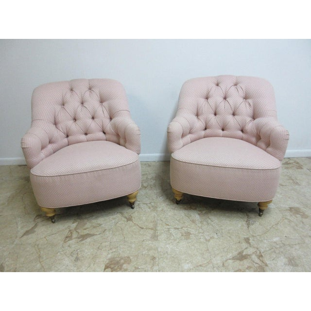 Ethan Allen Chesterfield Lounge Chair - Image 10 of 10