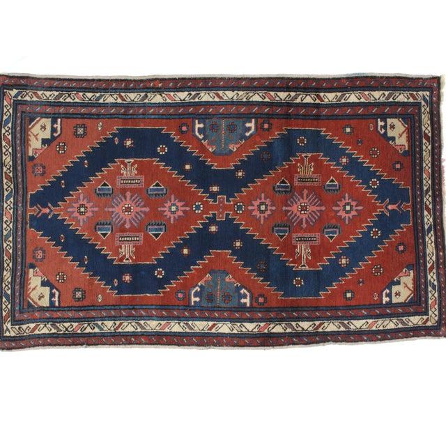 """Leon Banilivi Antique Kuba rug - 3'5"""" x 5'8"""" - Image 2 of 4"""
