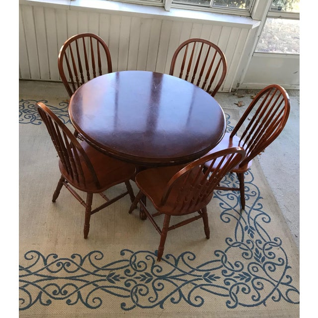 Round Table & Chair Set - Image 5 of 5