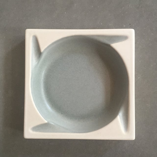 Porcelain Ashtrays by Hyalyn - a Pair - Image 6 of 8