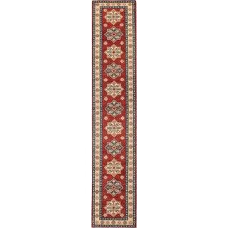 "Apadana 21st Century Modern Kazak Runner Rug -- 2'6"" x 13'"