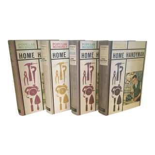 1961 Illustrated Home Handyman Encyclopedias- Set of 4