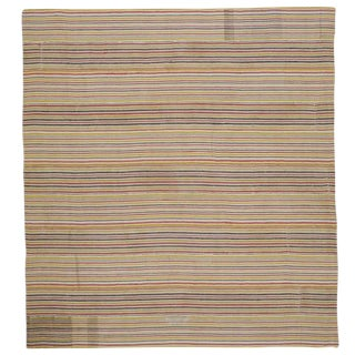 Large Striped Kilim