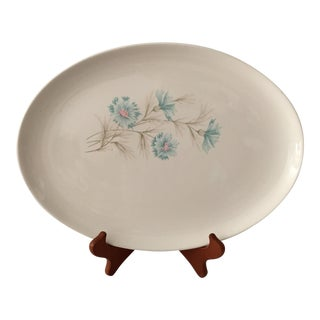 Blue Cornflower Patterned Serving Platter