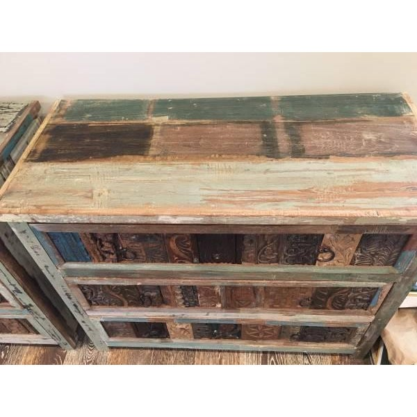 Hand-Crafted Reclaimed Dresser - Image 3 of 4