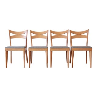Heywood Wakefield Dining Chairs, Set of 4
