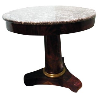 19th C. French Empire Center Table