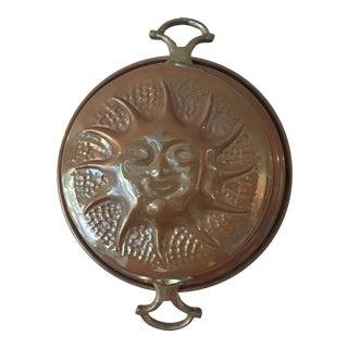 Vintage Copper Sunburst Mold