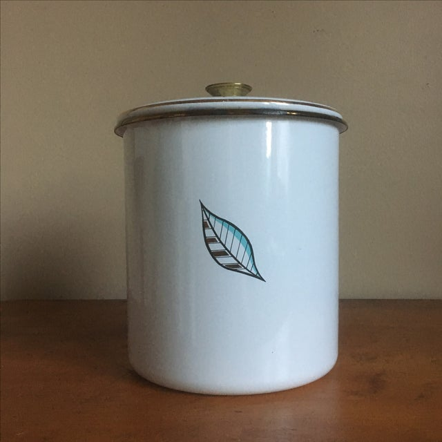 Image of Vintage Georges Briard Mid-Century Cookie Canister