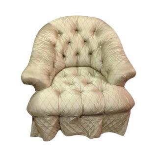 Tufted Baker Chairs - A Pair