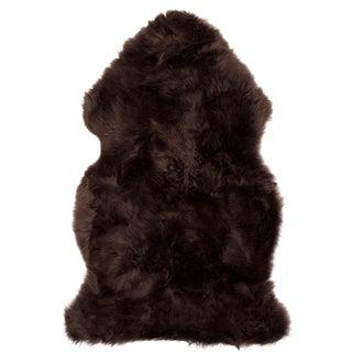 Brown New Zealand Sheepskin - 2' x 3'