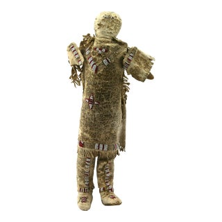 Plains Indian Beaded Doll, circa 1890